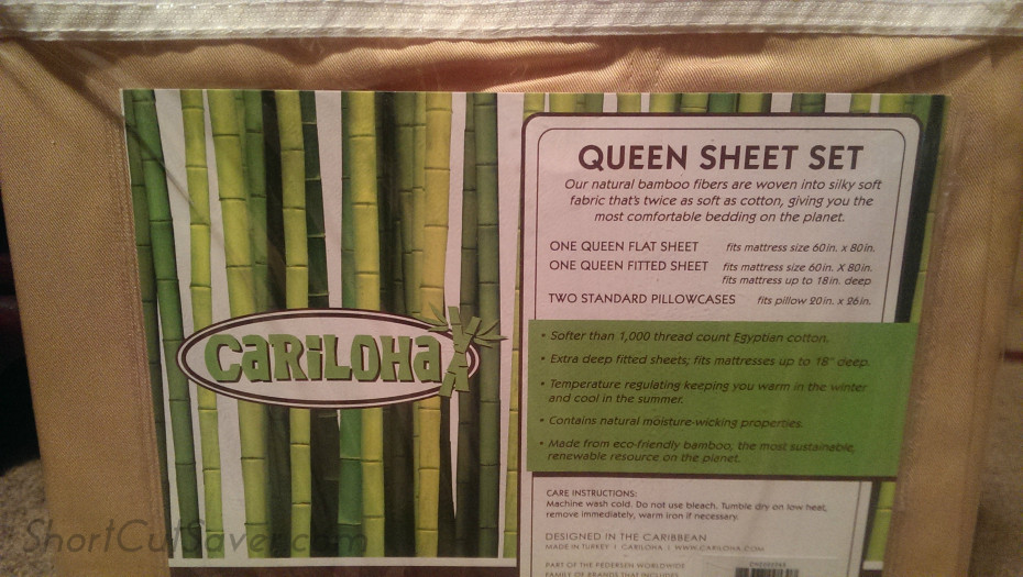 cariloha bamboo sheets review and giveaway