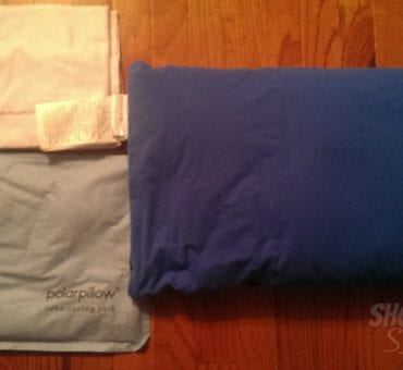 Sleep Cooler with Polar Pillow and Pillow Case