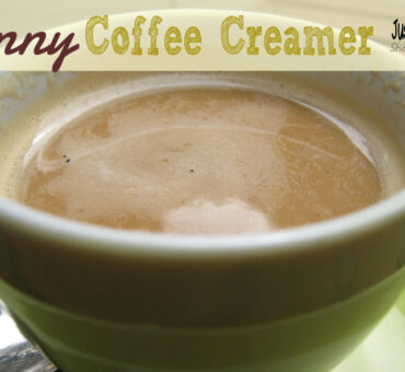 Skinny Coffee Creamer – Just 3 Weight Watcher Points