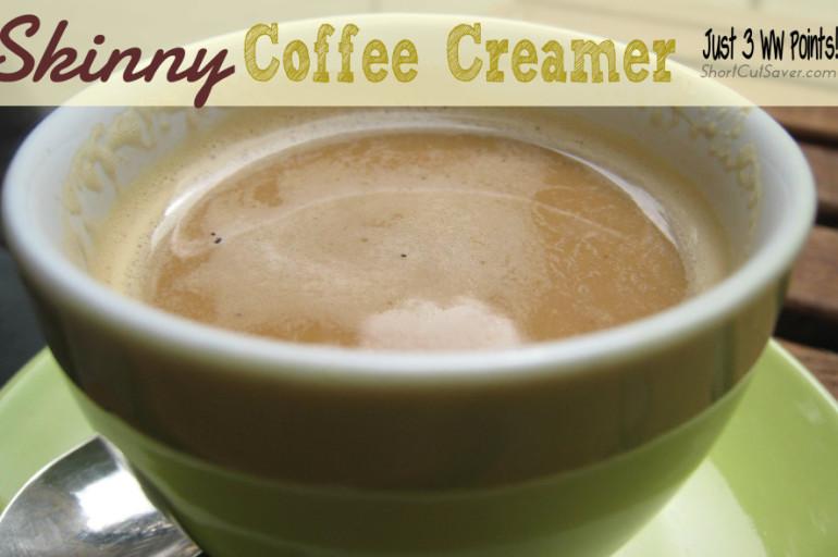 Skinny Coffee Creamer – Just 3 Weight Watcher Points