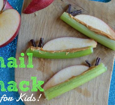 Snail Snack for Kids