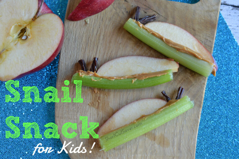 Snail Snack for Kids