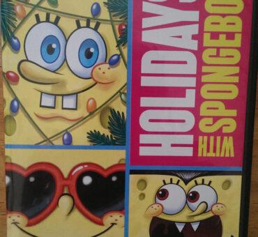 SpongeBob SquarePants: Holidays with SpongeBob 3 Disc DVD on Sale 9/9