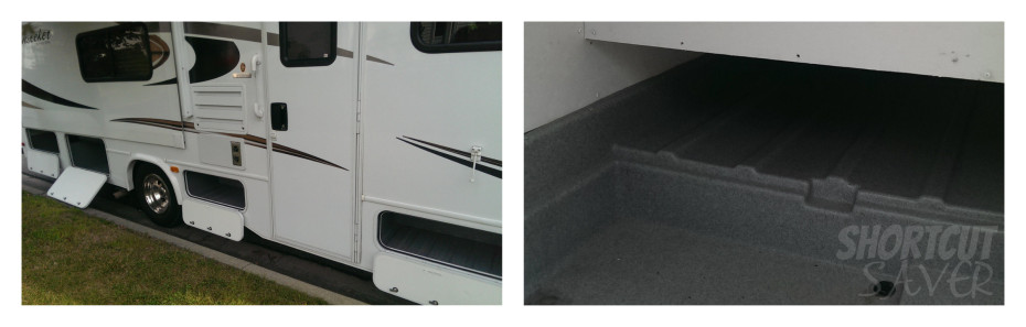 storage around the rv