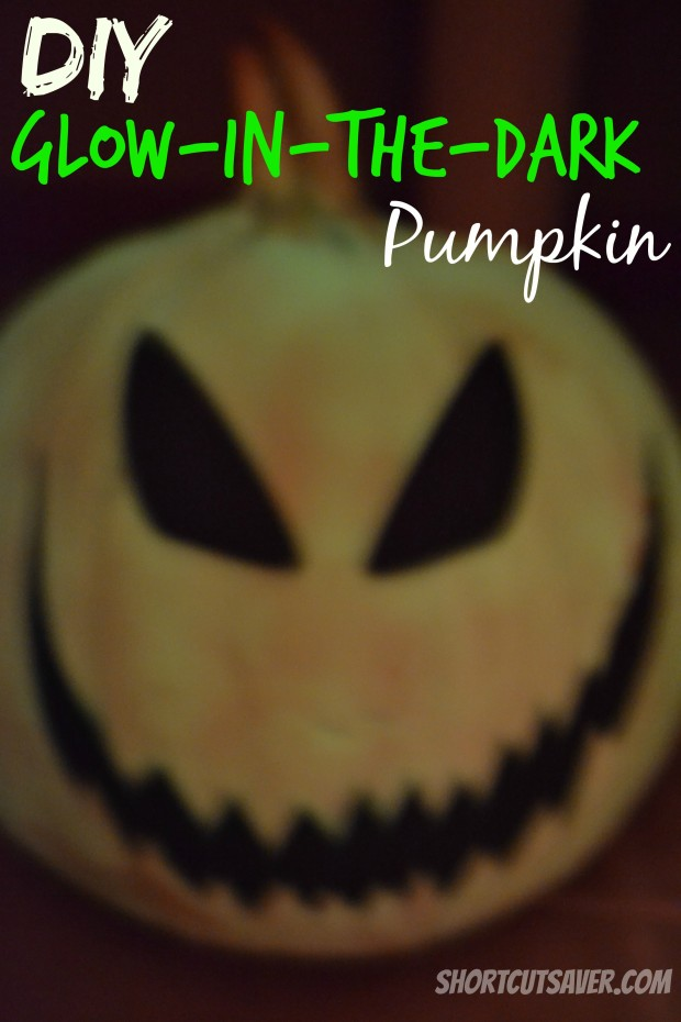 DIY Glow-in-the-Dark Pumpkin