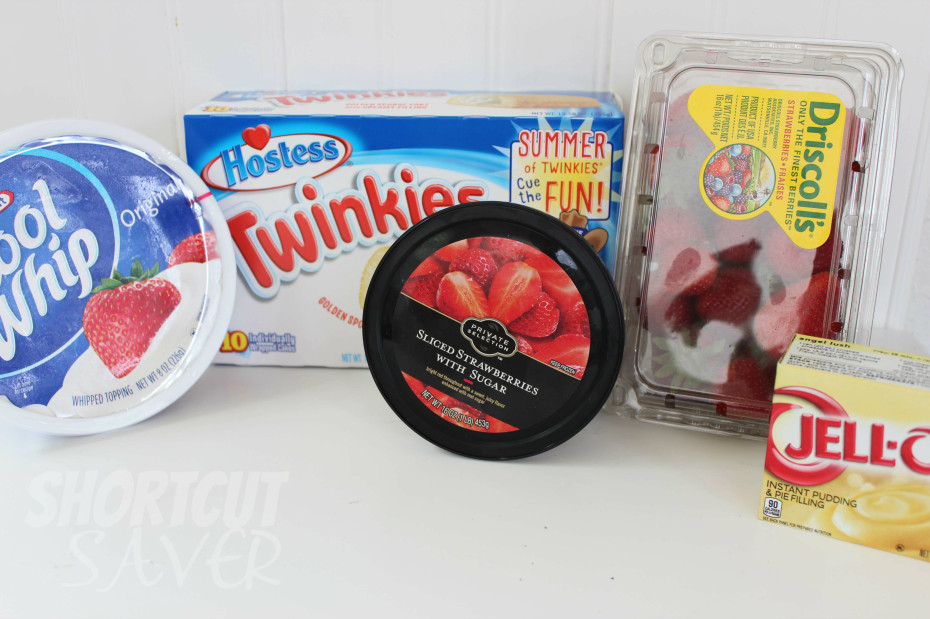 Twinkie strawberry dessert ingredients