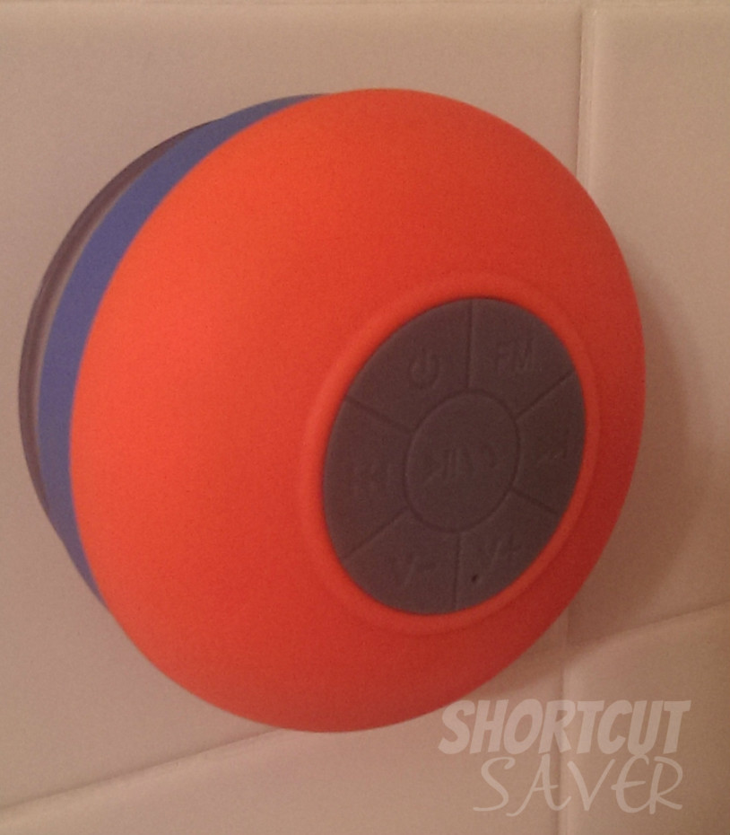 Water Resistant Wireless Bluetooth Shower Speaker