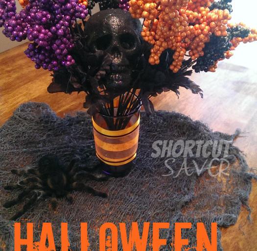 Halloween Floral Centerpiece