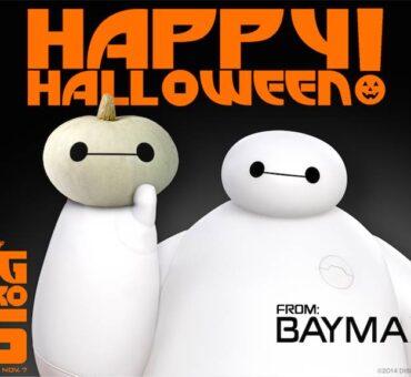 Happy Halloween from Baymax! #BigHero6  #MeetBaymax