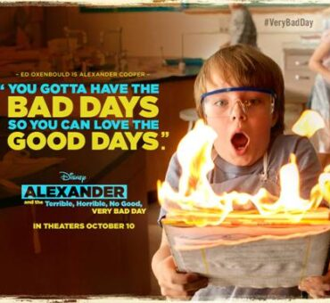 Disney ALEXANDER AND THE TERRIBLE, HORRIBLE, NO GOOD, VERY BAD DAY Activity Sheets & Recipe #VeryBadDay