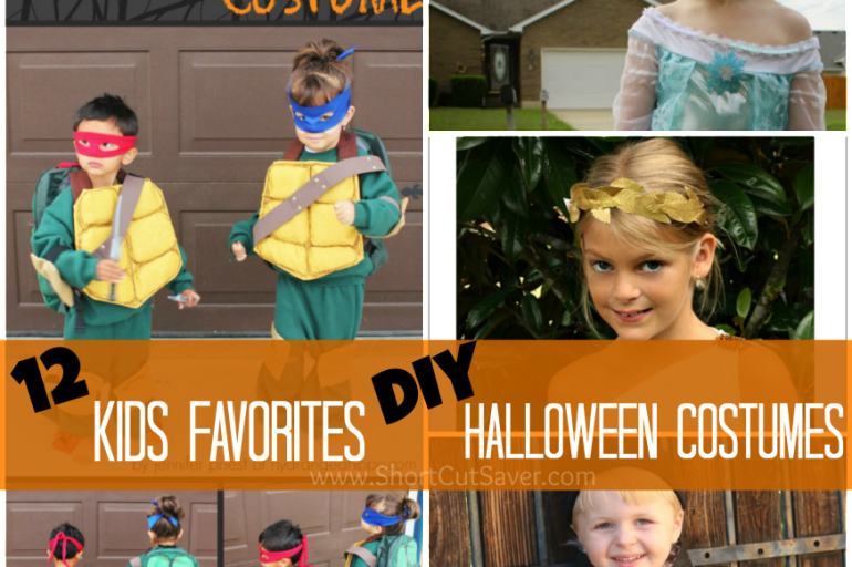12 kids favorites diy halloween costumes everyday shortcuts - Mobile homes in greece practical solutions for perfect holidays ...