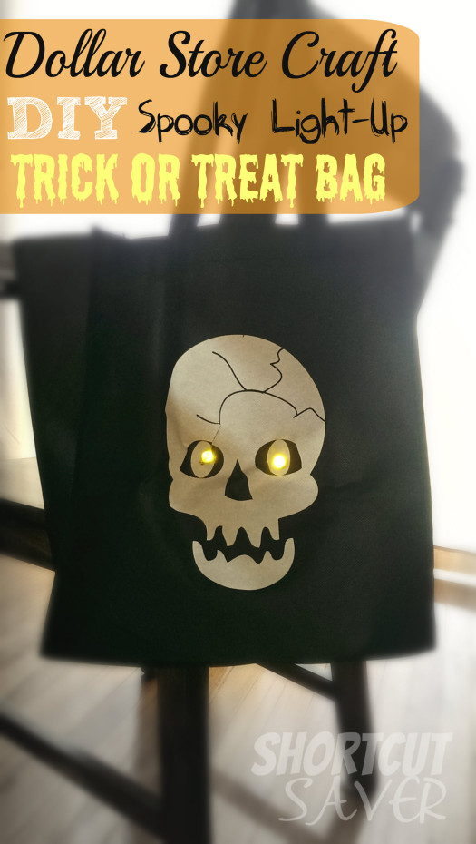 Spooky Light-Up Trick or Treat bag