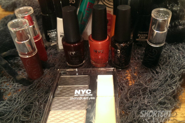 Create your Halloween Look with Sally Hansen and NYC New York Color