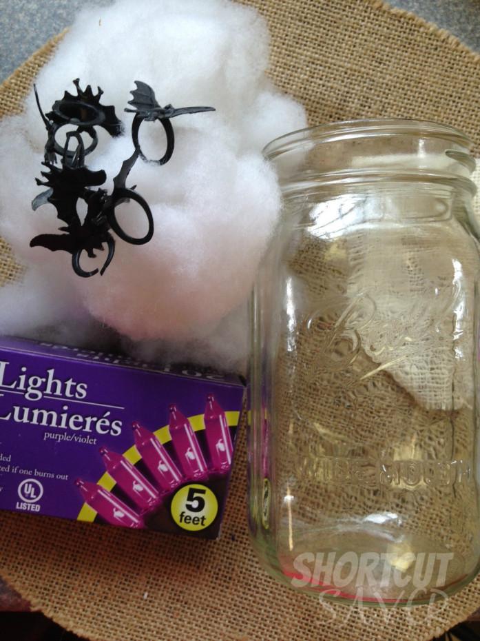 spooky bats night light supplies