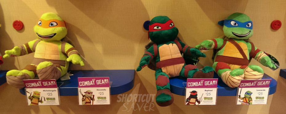 Build A Bear Donatello