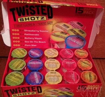 Twisted Shotz: 2 Flavors in One Disposable Shot Glass