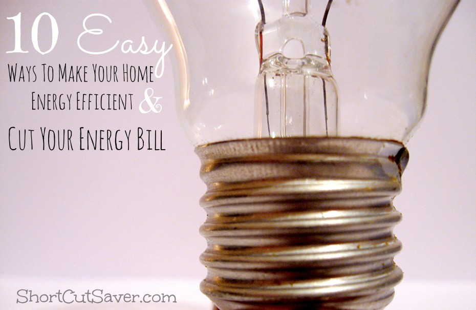 Ways to make my home energy efficient questions