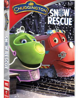 Chuggington: Snow Rescue Available on DVD December 9th