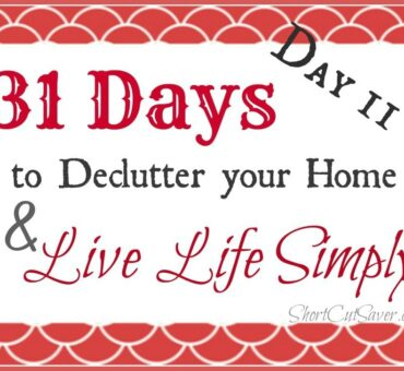 31 Days to Declutter Your Home & Live Life Simply: Bills (Day 11)
