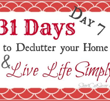 31 Days to Declutter Your Home & Live Life Simply: Kids Bedroom Part 2 (Day 7)