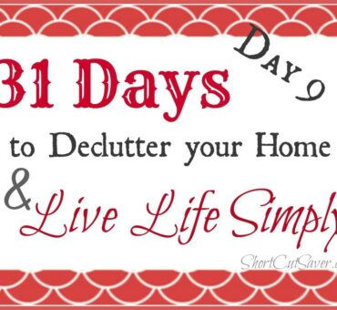31 Days to Declutter Your Home & Live Life Simply: Emails (Day 9)