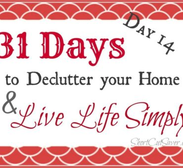 31 Days to Declutter Your Home & Live Life Simply: Pantry (Day 14)