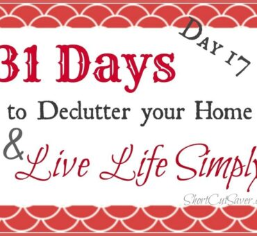 31 Days to Declutter Your Home & Live Life Simply: Dresser Drawers (Day 17)