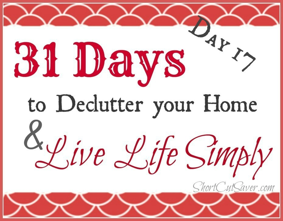 31 Days to Declutter Your Home & Live Life Simply: Dresser Drawers