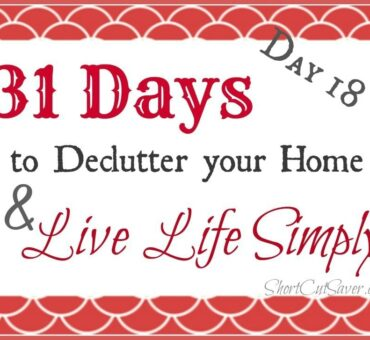 31 Days to Declutter Your Home & Live Life Simply: Magazines (Day 18)