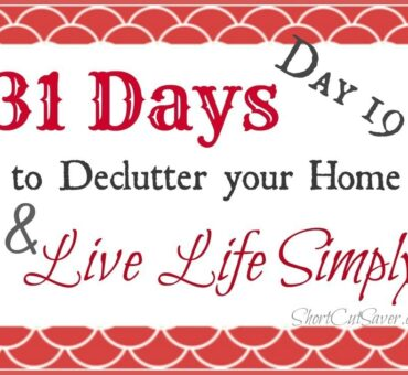 31 Days to Declutter Your Home & Live Life Simply: Under the Bed (Day 19)
