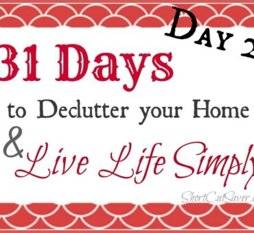 31 Days to Declutter Your Home & Live Life Simply: Bathroom Cabinet (Day 2)