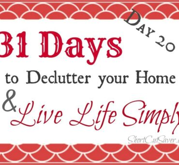 31 Days to Declutter Your Home & Live Life Simply: Jewelry (Day 20)