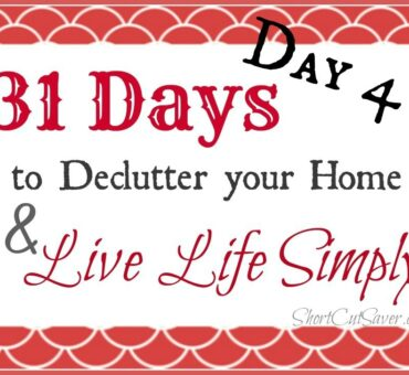31 Days to Declutter Your Home & Live Life Simply: Junk Drawer (Day 4)