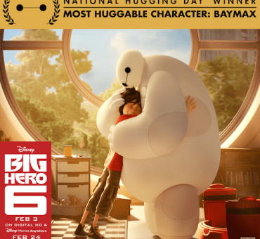 National Hugging Day: Baymax was Voted the Most Huggable Character