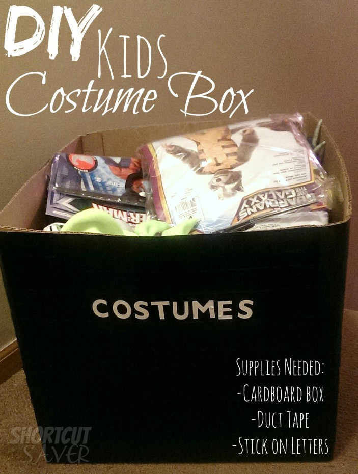 DIY kids costume box
