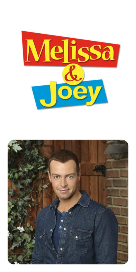 Joey Lawrence on Melissa and Joey