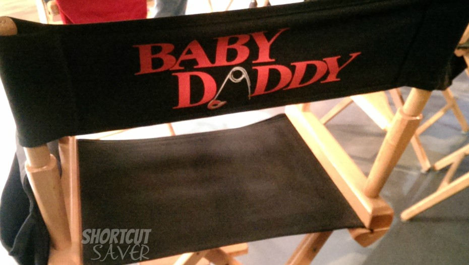 baby daddy director chair