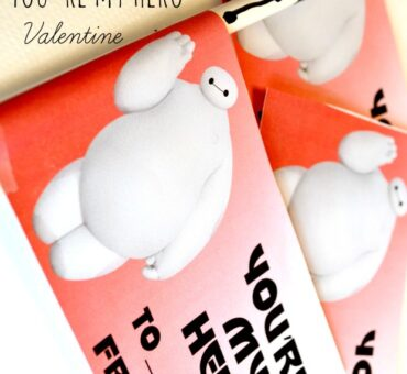 Baymax You're My Hero Valentine