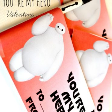 Baymax You're My Hero Valentine