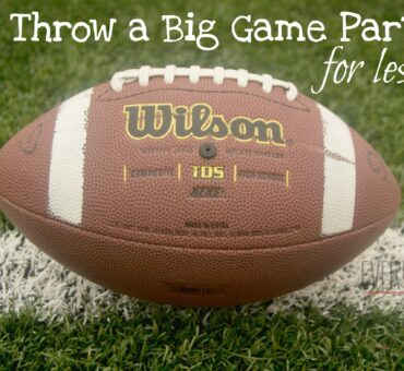 How to Throw a Big Game Party for Less