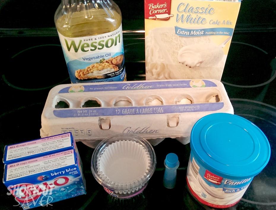 frozen inspired poke cupcakes ingredients