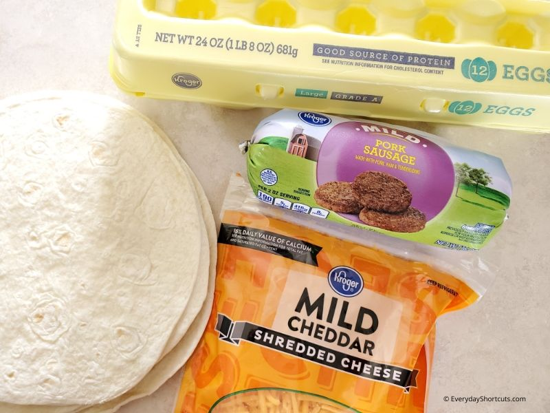 ingredients-for-breakfast-burritos