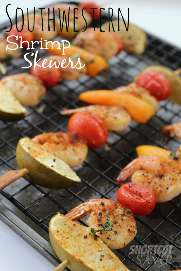 southwestern shrimp skewers