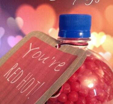 You're Red Hot! Valentine Candy Gift