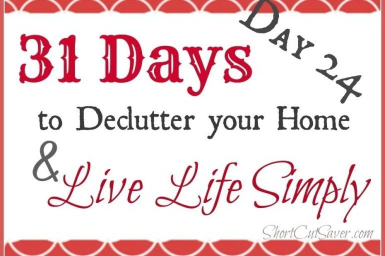 31 Days to Declutter Your Home & Live Life Simply: Attic/Crawl Space (Day 24)