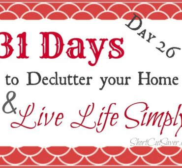 31 Days to Declutter Your Home & Live Life Simply: Gift Wrapping Supplies (Day 26)
