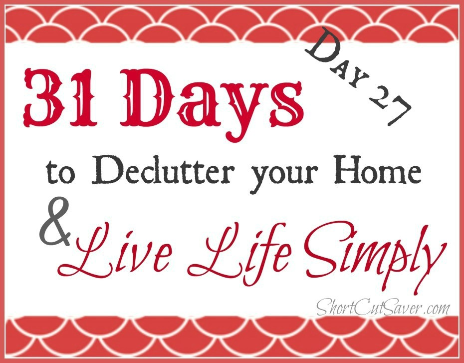 31 Days to Declutter Your Home & Live Life Simply: Refrigerator