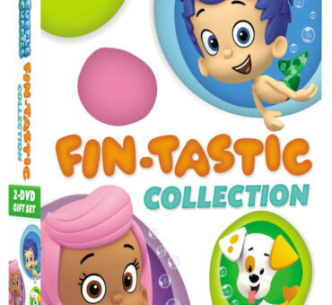 Bubble Guppies Fin-Tastic DVD Collection Available March 3, 2015