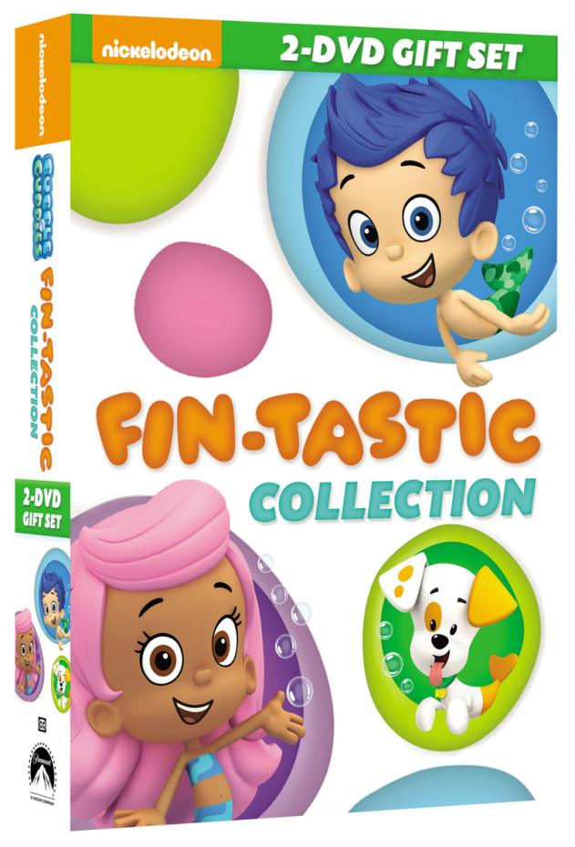 Bubble Guppies Fin-Tastic DVD Collection
