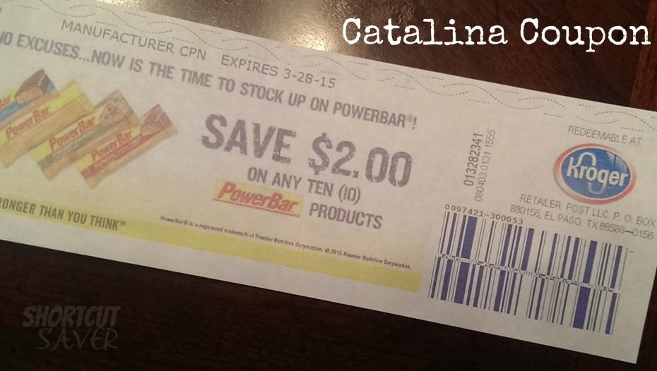 catalina coupon paper